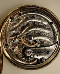 E. Howard – Morehouse style dial 14kt Rare clamshell case